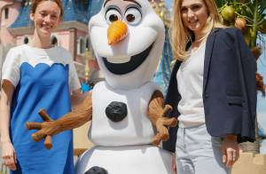 Julie Gayet et Camille Cottin, enceinte : Reines d'une fête givrée à Disneyland