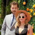 Joshua Jackson et Diane Kruger lors du 8e tournoi de Polo Veuve Clicquot près de New York le 30 mai 2015