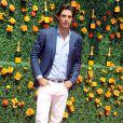 Nacho Figueras lors du 8e tournoi de Polo Veuve Clicquot près de New York le 30 mai 2015