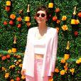 Maggie Gyllenhaal lors du 8e tournoi de Polo Veuve Clicquot près de New York le 30 mai 2015