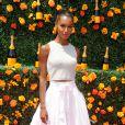 Jasmine Tookes lors du 8e tournoi de Polo Veuve Clicquot près de New York le 30 mai 2015