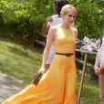 Emma Roberts lors du 8e tournoi de Polo Veuve Clicquot près de New York le 30 mai 2015