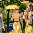 Emma Roberts à la journée annuelle Veuve Clicquot Polo Classic, le 30 mai 2015 à Liberty Island