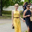 Emma Roberts à la journée annuelle Veuve Clicquot Polo Classic, le 30 mai 2015 - Liberty Island