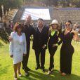 Janet Jackson assiste à la remise de diplôme de Prince Jackson de même que Katherine Jackson, le 29 mai 2015 sur Twitter.