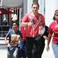 Semi-Exclusif - Prince Jackson et ses cousins se rendent à leur cours de Jiu-Jitsu à Beverly Hills. Le 20 juin 2014