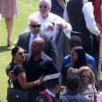 Prince Jackson, Asa Soltan Rahmati et Jermaine Jackson Jr - Remise de diplôme de Prince Jackson à Buckley High School à Sherman Oaks, le 29 mai 2015