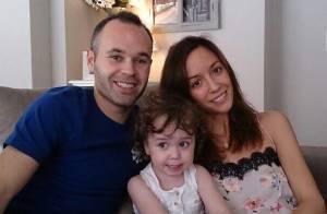 Andrés Iniesta (FC Barcelone) papa : Sa jolie Anna a accouché de leur 2e bébé