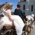 Exclusif - Voici le mariage de Véronique et Thierry ( L'amour est dans le pré, saison 9 ) à Valençay. Parmi les invités figuraient les anciens participants de l'émission. Le 23 mai 2015.