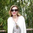 Valérie Trierweiler - People au village des Internationaux de France de tennis de Roland Garros à Paris le 2 juin 2015