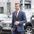David Beckham à Madrid, le 3 juin 2015.