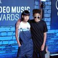 Willow Smith and Jaden Smith - Ceremonie des MTV Video Music Awards a New York, le 25 aout 2013.