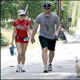 Anna Faris et Chris Pratt à Los Angeles, le 15 août 2009.