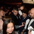 Exclusif - Kev Adams arrive à l'aftershow du film  Les Profs 2  au Comedy Club à Paris, le 9 juin 2015.