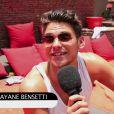 Le comédien Rayane Bensetti répond à Purepeople en direct au Marrakech du Rire 2015
