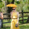 Emma Roberts à la journée annuelle Veuve Clicquot Polo Classic à Liberty Island, le 30 mai 2015