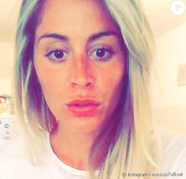 Suite à cette apparition sur Instagram, Anaïs Camizuli a violemment été clashée sur son physique. Juin 2015.