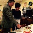 Stephen Fry et son jeune mari Elliott, le 17 janvier 2015