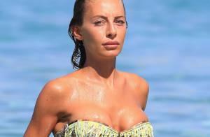 Alessia Tedeschi : Naïade sexy, la bombe de Ronaldo fait grimper la température