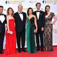 Alfred Enoch, Matt McGorry, Sarah Drew, le prince Albert II de Monaco, Ming-Na, Matthew Gray Gubler et Hayley Atwell - Cérémonie des Golden Nymph Awards lors du 55ème Festival de Télévision de Monte Carlo le 18 juin 2015.