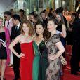 Sarah Drew, Ming-Na, Hayley Atwell - Cérémonie des Golden Nymph Awards lors du 55ème Festival de Télévision de Monte Carlo le 18 juin 2015.