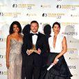 Karla Cheatham-Mosley, Jacob Young, Jacqueline MacInnes Wood (Amour, Gloire et Beautél) ont reçu une nymph dans la catégorie The best telenovelas / Soap Operas - Cérémonie de remise des prix des Golden Nymph Awards lors du 55ème Festival de Télévision de Monte Carlo le 18 juin 2015.