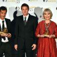 Julian Farino, Eric Close, Gemma Jones - Julian et Gemma ont reçu une nymph dans la catégorie Television Films. Gemma pour Outstanding actress et Julian, le réalisateur, pour The Best Television Film - Cérémonie de remise des prix des Golden Nymph Awards lors du 55ème Festival de Télévision de Monte Carlo le 18 juin 2015.