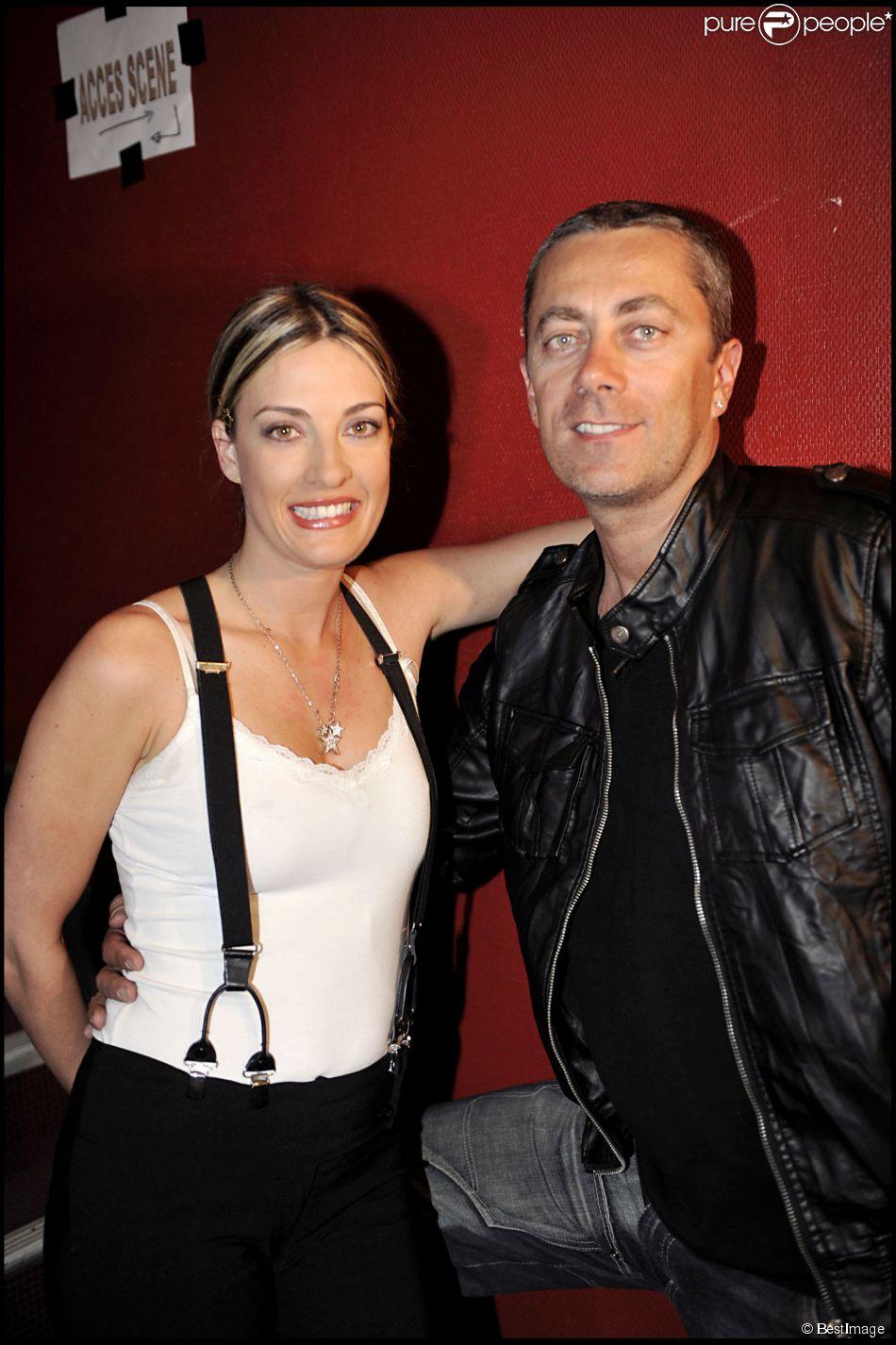 Eve Angeli et son Michel au gala Haïti on reconstruit. A Paris en 2010.