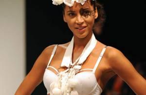 REPORTAGE PHOTOS : Noémie Lenoir, en très petite tenue, défile sous les yeux amoureux de Claude Makelele !