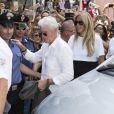 Tiziana Rocca, Richard Gere - Festival du film de Taormina en Sicile le 17 juin 2015