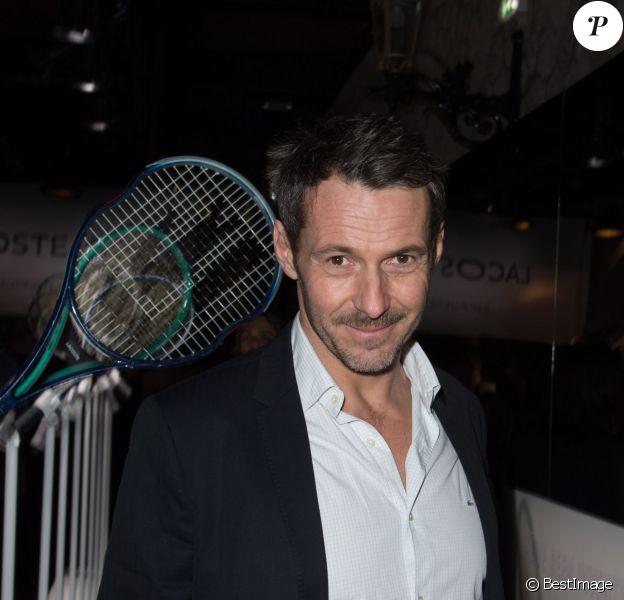 """Julien Boisselier - Soirée """"Lacoste LT12 Beautiful Tennis"""" au """"Faust"""""""" à Paris le 22 janvier 2015."""