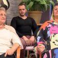 Michaël, Yvette et Jeanine dans  Qui veut épouser mon fils ?  saison 4 sur TF1, le vendredi 26 juin 2015.