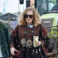 Adele au Glastonbury Festival, le 27 juin 2015