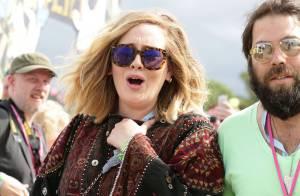 Adele et son chéri : La star sort de sa tanière pour le festival Glastonbury