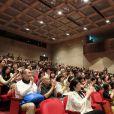 Les spectateurs conquis lors du 23e festival du film français au Japon d'UniFrance, (Tokyo, juin 2015)