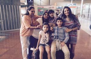 Maud Versini et ses enfants : ''Enfin réunis'' après plus de 3 ans de séparation