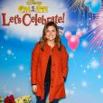 """Tiffani Thiessen à la soirée """"Disney on Ice Let's Celebrate!"""" à Los Angeles, le 11 décembre 2014"""