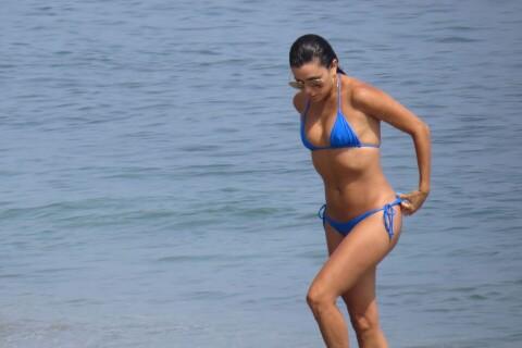 Eva Longoria : Sirène sexy en bikini, elle débarque en Europe
