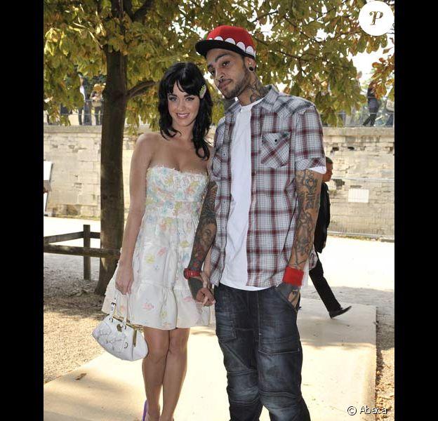 Katy Perry et Travis McCoy au défilé Dior, le 29/09/08