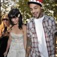 Katy Perry et son amoureux Travis McCoy au défilé Dior, le 29/09/08