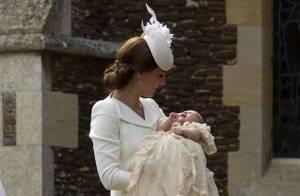 Baptême Charlotte de Cambridge : William et Kate comblés, George espiègle