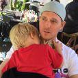Michael Bublé et son fis Noah - Instagram, juin 2015