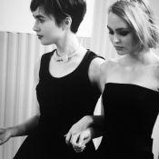 Fashion Week : Vanessa Paradis et Lily-Rose Depp, joueuses pour Chanel