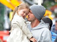 David Beckham sous le charme : Moment de tendresse avec sa petite Harper