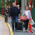 Wayne Rooney et sa femme Coleen à Macclesfield le 17 juin 2015