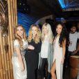 Jade Thirlwall, Perrie Edwards et Leigh font la fête au Mahiki Night club à Dubai le 11 mars 2015