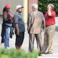 """Bobbi Brown et Leolah Brown arrivent au """"Peachtree Christian Hospice"""" pour rendre visite à Bobbi Kristina à Duluth en Georgie, le 29 juin 2015."""