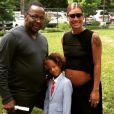 Bobby Brown et sa famille Alicia / Juillet 2015