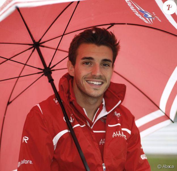 Jules Bianchi lors du Grand Prix du Japon à Suzuka le 5 octobre 2014
