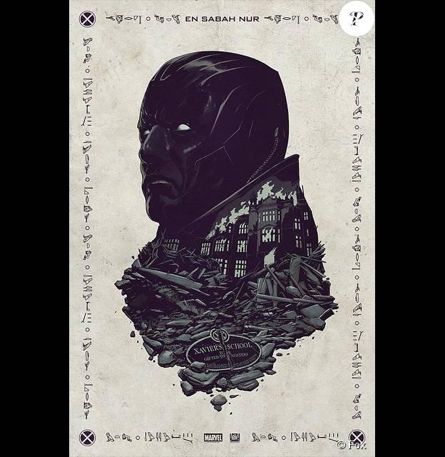 Première affiche de X-Men : Apocalypse dévoilée au Comic-Con.